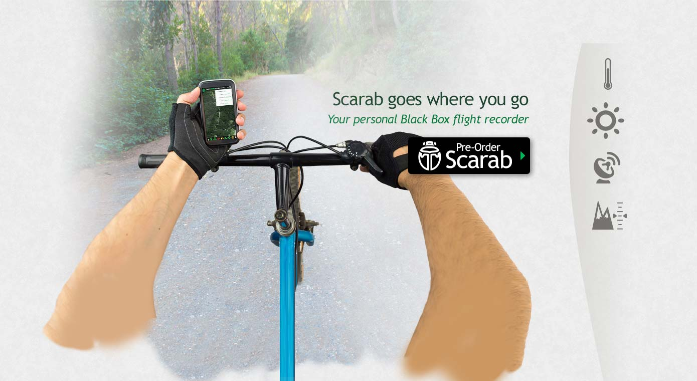 Scarab goes where you go